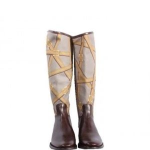 Tory Burch Riding Boots Size 7.5